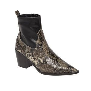 Topshop bliss western boot